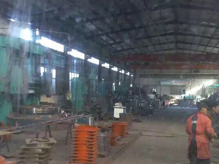 桥梁伸缩缝生产厂区